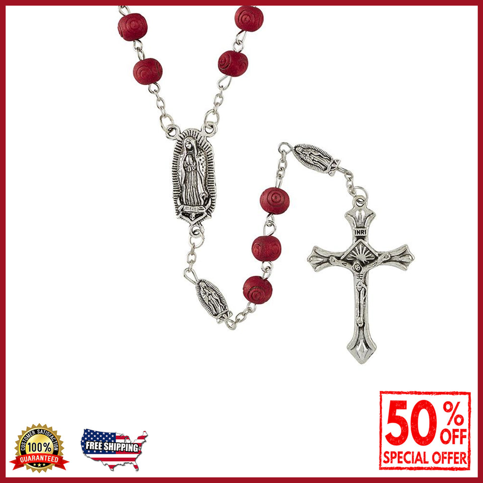 Our Lady of Guadalupe Rose Scented Rosary