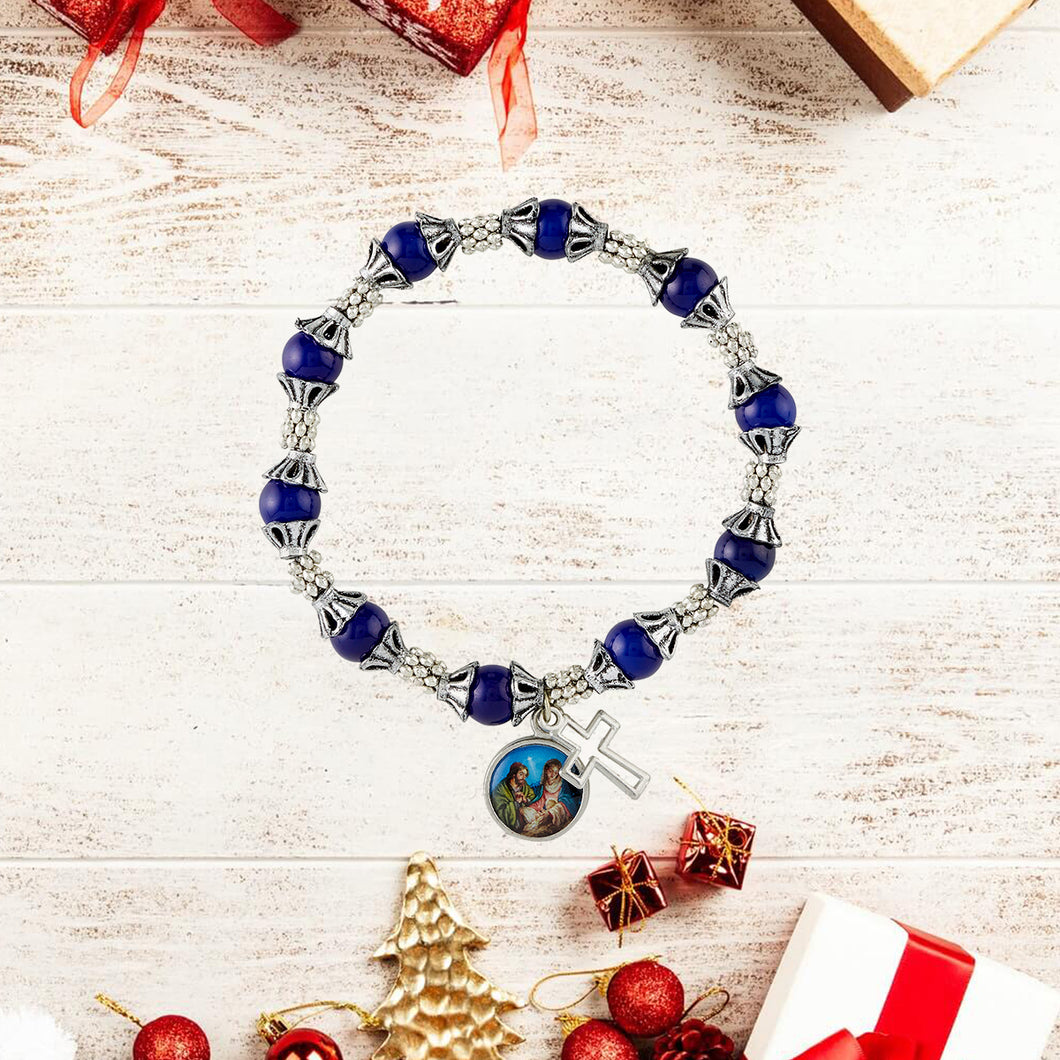 FREE Peace on Earth Rosary Bracelet