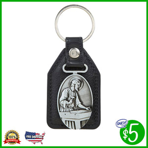 St. Joseph the Worker Fob Style Key Chain