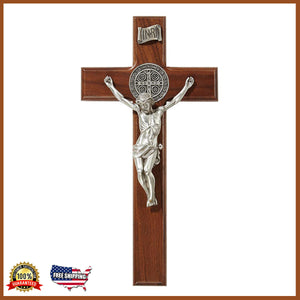 "10"" St. Benedict Crucifix (Free Shipping)"