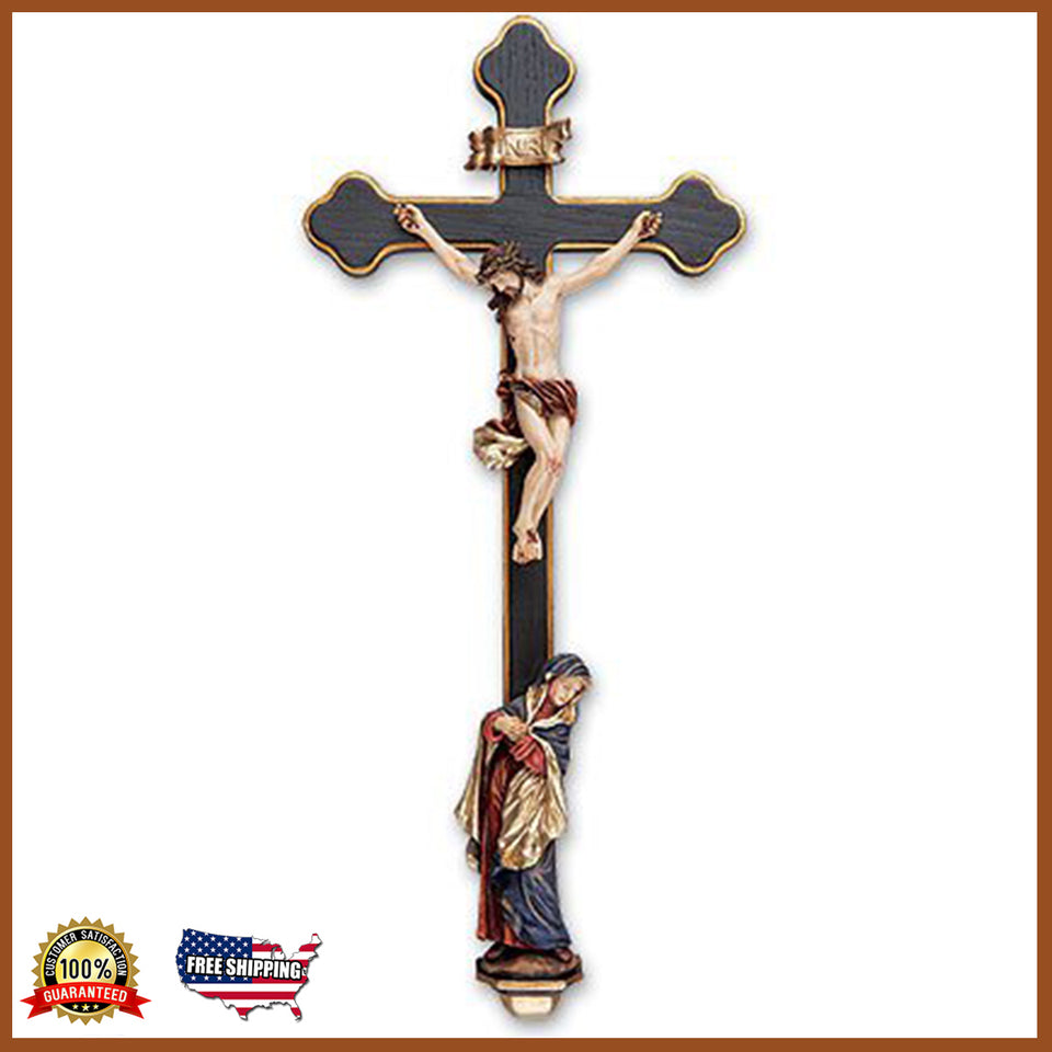 "13"" Sorrowful Mother Crucifix"