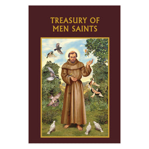 Aquinas Press Prayer Book - Treasury of Men Saints
