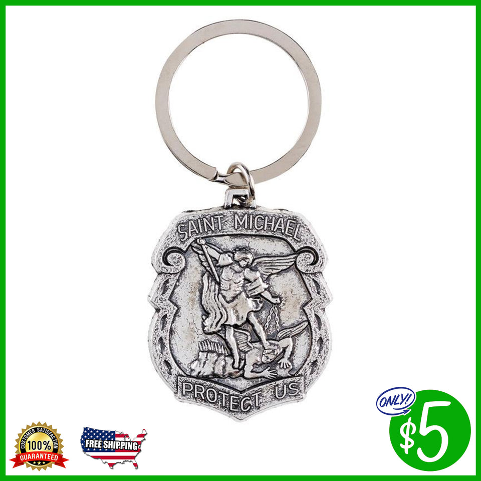 St. Michael the Archangel Key Chain