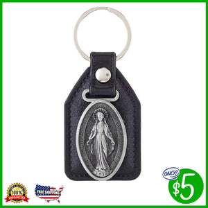 Miraculous Leather Key Chain
