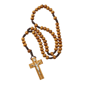 FREE 6mm Wood Cord Rosary