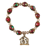 Nativity Rosary Bracelet