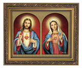 The Sacred Hearts Framed Print