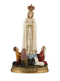 "Our Lady of Fatima with 8"" Children Statue"