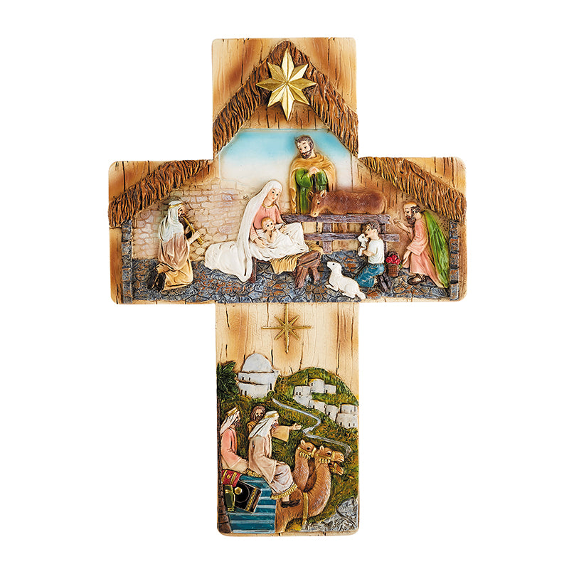 Bethlehem Nativity Wall Cross