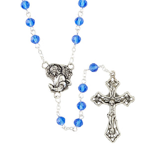Archangel Glass Rosary