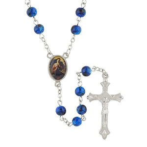 Mary, Untier of Knots Rosary with Case (BOGO)
