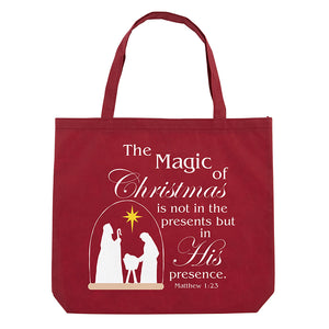Magic of Christmas Tote Bag (FREE GIFT)