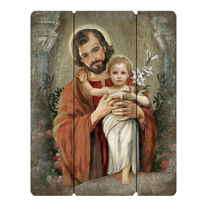 Saint Joseph - Wood Pallet Sign