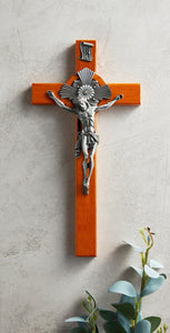 "10"" Baroque Crucifix Solid (Free Shipping)"