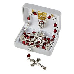Our Lady of Guadalupe Enamel Rosary