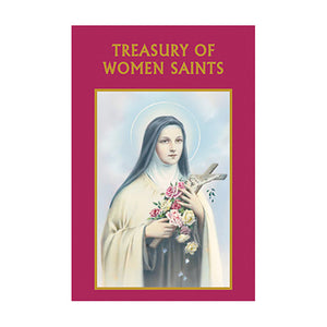 Aquinas Press Prayer Book - Treasury Of Women Saint