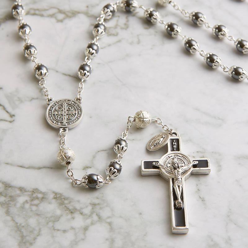 St. Benedict Rosary with Gift Box