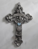 Sacramental Wall Cross Baptized In Christ