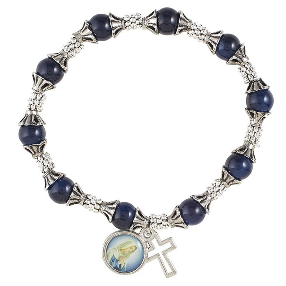 FREE Blessed Mother Rosary Bracelet