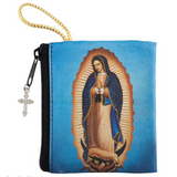 Our Lady of Guadalupe Zipper Rosary Case