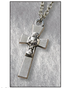 Cross with Chalice First Communion Pendant