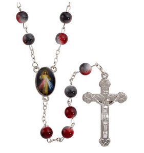 Divine Mercy Two Tone Rosary