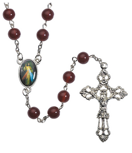 Divine Mercy Glass Rosary