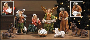 "6"" H 8-pc Nativity Set"