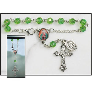 FREE Our Lady of Guadalupe Auto Rosary
