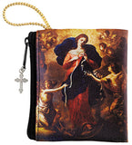 Mary, Untier of Knots Zipper Rosary Case