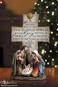 "12"" A Savior Is Born Figurine"