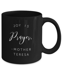 Mother Teresa Joy Mug