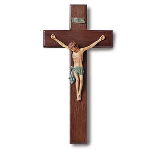 "10"" Traditional Crucifix (Free Shipping)"