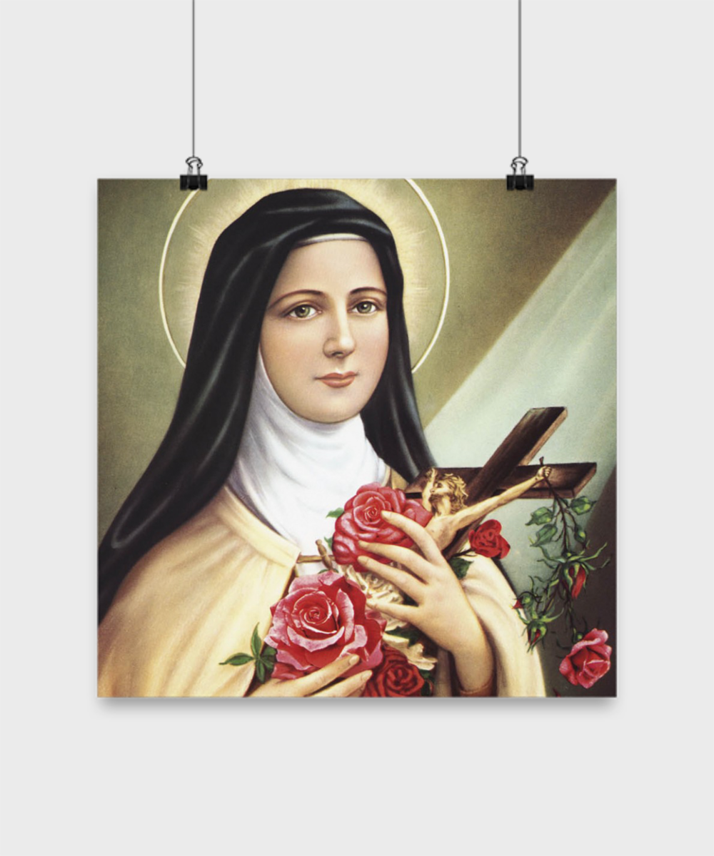 St Therese Poster