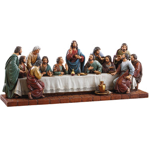 "Last Supper 16"" W Figure"