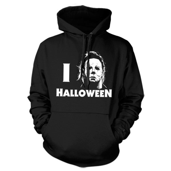 I Love Halloween Hoodie - FiveFingerTees