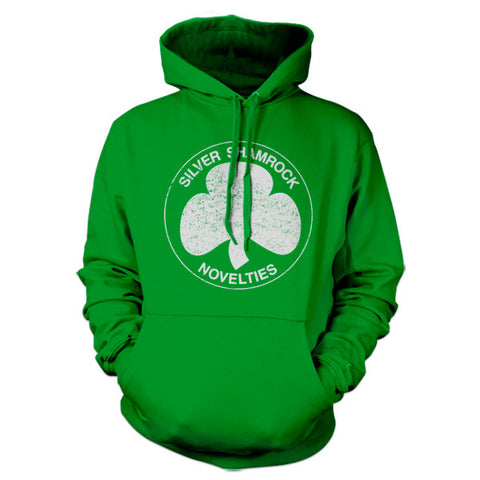 Silver Shamrock Novelties Hoodie - FiveFingerTees
