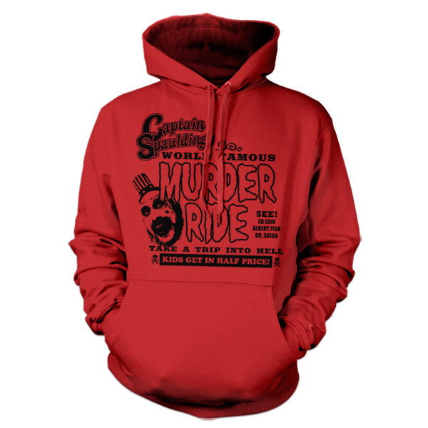 Captain Spauldings Murder Ride Hoodie - FiveFingerTees