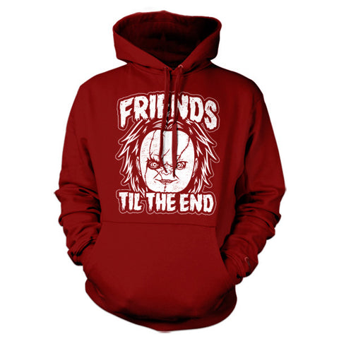 Friends Til The End Chucky Hoodie - FiveFingerTees