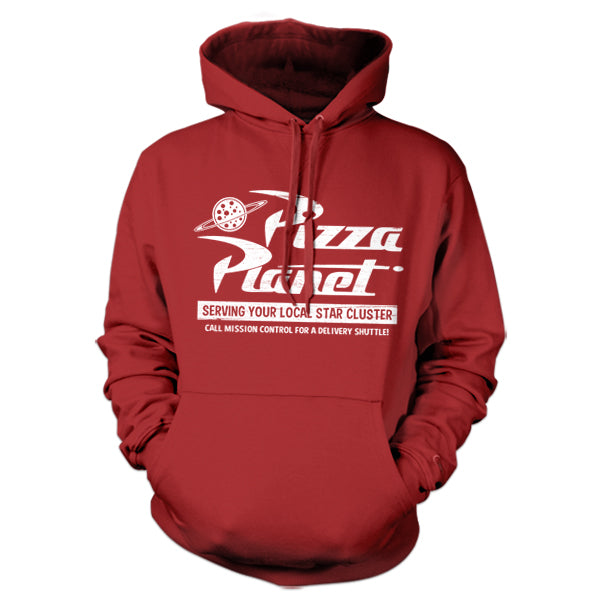 Pizza Planet Hoodie - FiveFingerTees