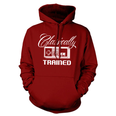Classically Trained Hoodie - FiveFingerTees