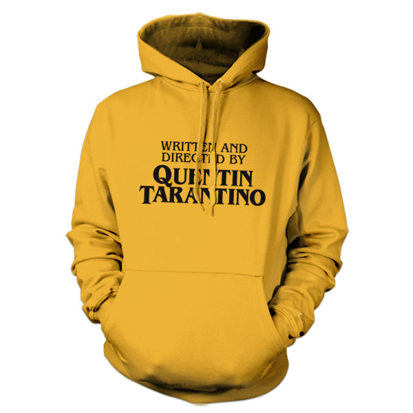 Written And Directed By Quentin Tarantino Hoodie - FiveFingerTees