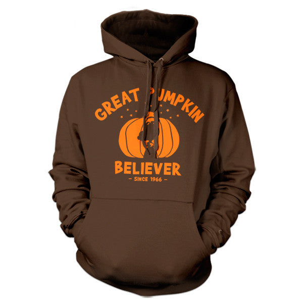 Great Pumpkin Believer Hoodie - FiveFingerTees