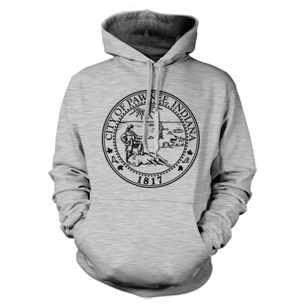 City Of Pawnee Seal Hoodie - FiveFingerTees