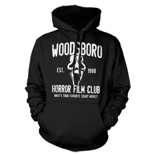 Woodsboro Horror Film Club Hoodie - FiveFingerTees