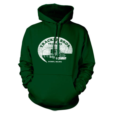 Tracker Bros. Trucking Hoodie - FiveFingerTees