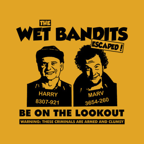 The Wet Bandits T-Shirt - FiveFingerTees