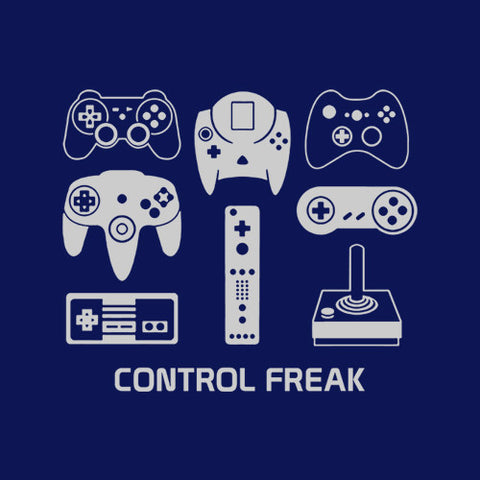 Control Freak T-Shirt - FiveFingerTees
