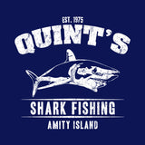 Quint's Shark Fishing T-Shirt - FiveFingerTees