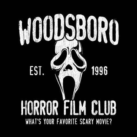 Woodsboro Horror Film Club T-Shirt - FiveFingerTees